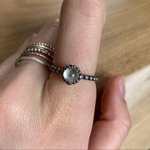 Pandora April Birthstone Ring ✨